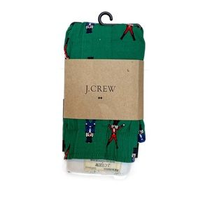 NWT J. Crew Nutcracker Holiday Soldier Boxers Sz L